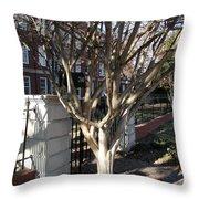 Atlanta Tree Throw Pillow