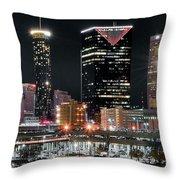 Atlanta Wide Angle Throw Pillow