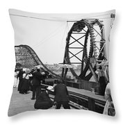 Atlantic City, C1902 Throw Pillow