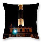 Atlantic City Lighthouse Throw Pillow