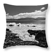 Atlantic Coast / Donegal Throw Pillow