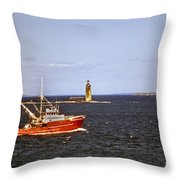 Atlantic Mariner Throw Pillow