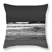 Atlantic Shore Throw Pillow