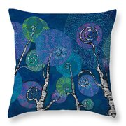 Atlantis Arbor Throw Pillow
