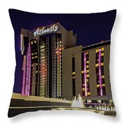 Casino Tower Throw Pillow