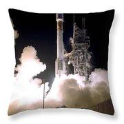 Atlas 2as Rocket Launch Throw Pillow