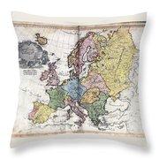 Atlas I Cedid Throw Pillow