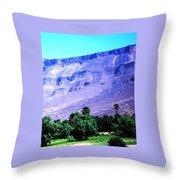 Atlas Mountains 46 Throw Pillow