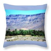 Atlas Mountains 47 Throw Pillow
