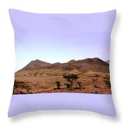 Atlas Mountains 48 Throw Pillow