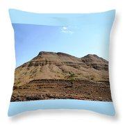 Atlas Mountains 49 Throw Pillow