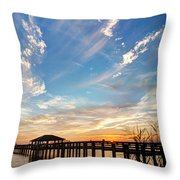 Atmospheric Throw Pillow