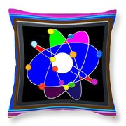 Atom Science Progress Buy Faa Print Products Or Down Load For Self Printing Navin Joshi Rights Manag Throw Pillow