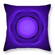 Atome-02 Throw Pillow