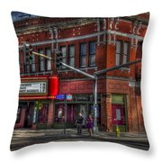 Atomic Wednesdays Throw Pillow