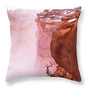 Atop Canyonlands Throw Pillow