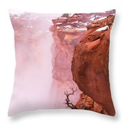 Atop Canyonlands Throw Pillow by Chad Dutson