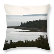 Atop The Lighthouse Throw Pillow