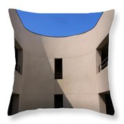 Atrium 2 Palm Springs Throw Pillow