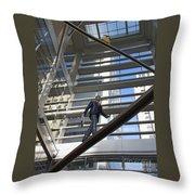 Atrium Art Throw Pillow