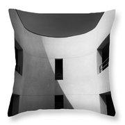 Atrium Bw Palm Springs Throw Pillow
