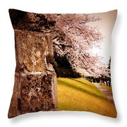 Atsugi Pillbox Walk   A1 Throw Pillow