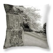 Atsugi Pillbox Walk  F Throw Pillow