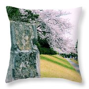 Atsugi Pillbox Walk  I1 Throw Pillow