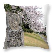 Atsugi Pillbox Walk Throw Pillow