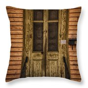 Attention Chat Lunatique - Crazy Cat Throw Pillow