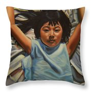 Attitude 2 Throw Pillow