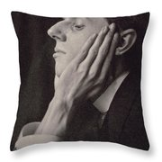 Aubrey Beardsley Throw Pillow