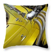 Auburn Roadster Throw Pillow