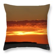 Auburn Sky Throw Pillow