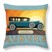 Auburn Throw Pillow