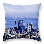 Auckland 4 Throw Pillow