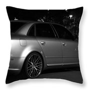 Audi 2 Throw Pillow