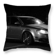 Audi 3 Throw Pillow