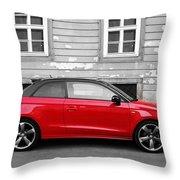Audi A1 Car Throw Pillow