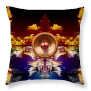 Audio Reflect 1 Throw Pillow