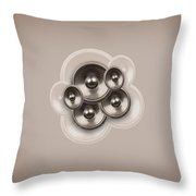 Audio Retro 3 Throw Pillow