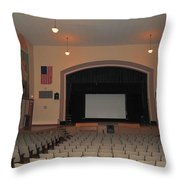 Auditorium In Clare Michigan Throw Pillow