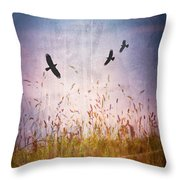 August Heat Throw Pillow