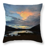 August Moose 2 Throw Pillow