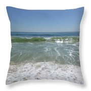 August Ocean Throw Pillow