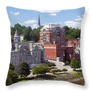 Augusta Skyline Throw Pillow