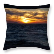 Augustine Sleeps Throw Pillow