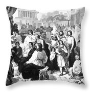 Augustus (63 B Throw Pillow