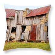Aunt Olive's House Throw Pillow