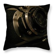 Auntie's Camera Throw Pillow